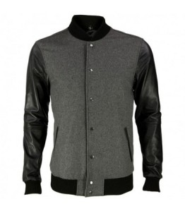 black-leather-sleeves-grey-varsity-jacket-archie-8-front_1